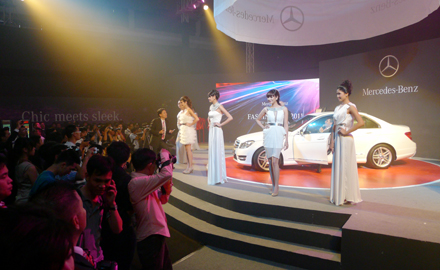 Triển lãm Mercedes Fascination 2011 diễn ra từ 9-12/6 tại Trung tâm triển lãm Giảng Võ, Hà Nội